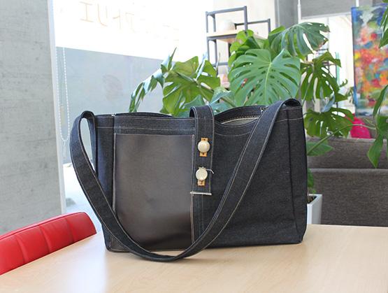 新作バッグの写真。